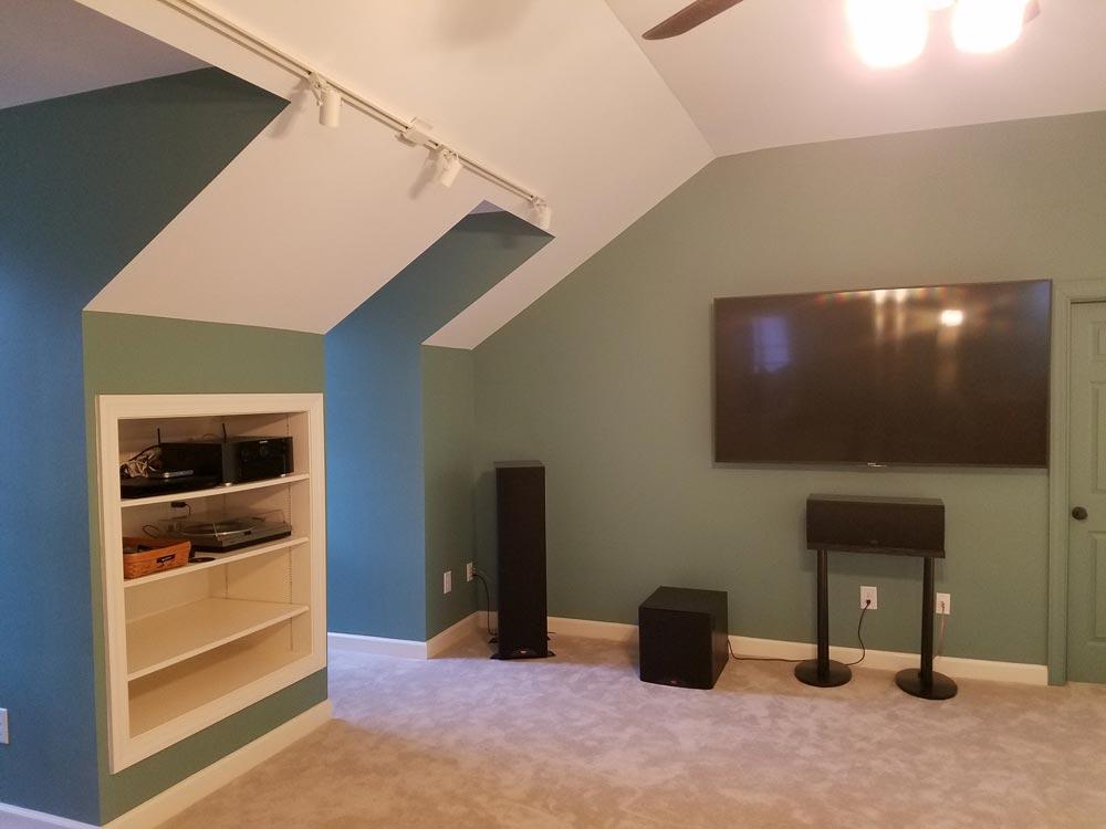 raleigh attic bonus room paint contractors raleigh painting team